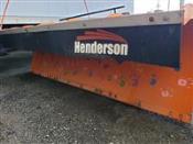 2015 Henderson Snow Plow 10' x 34
